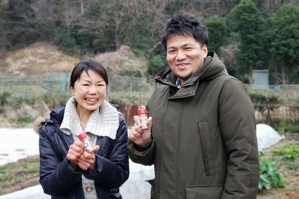 SDGs金澤リビングラボの奥井奈都美さんと永島太一郎さん