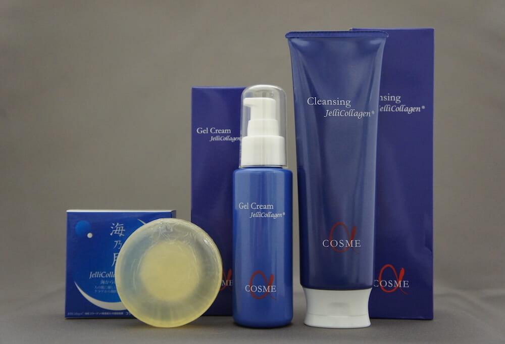 クラゲのコラーゲンを使った基礎化粧水