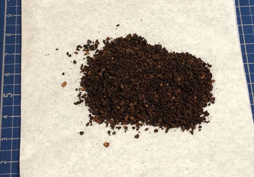研究に使用したコーヒー粕