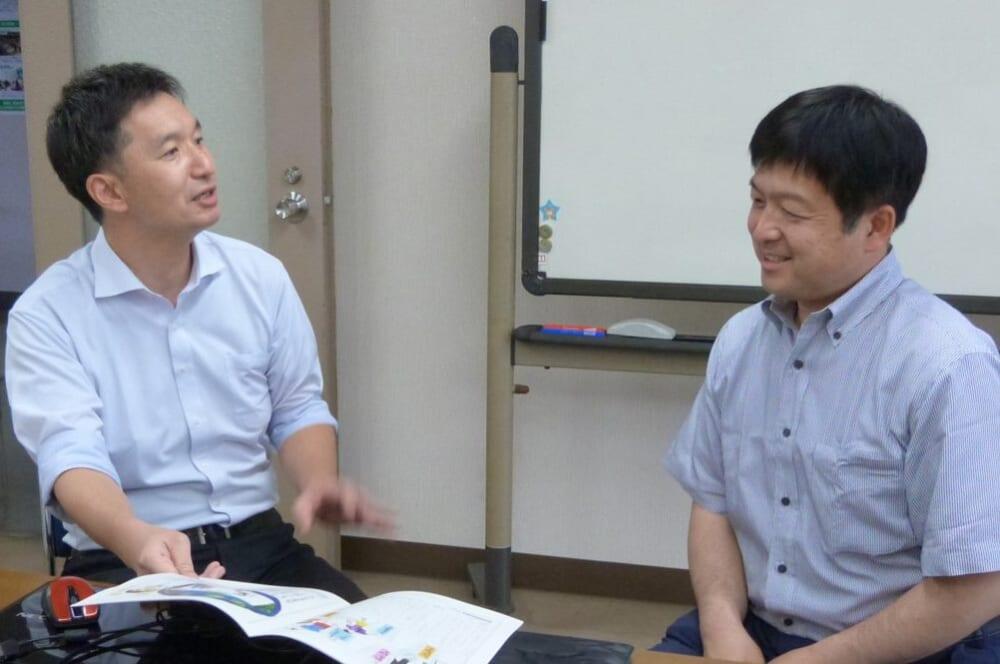 島川さんと栗原さん