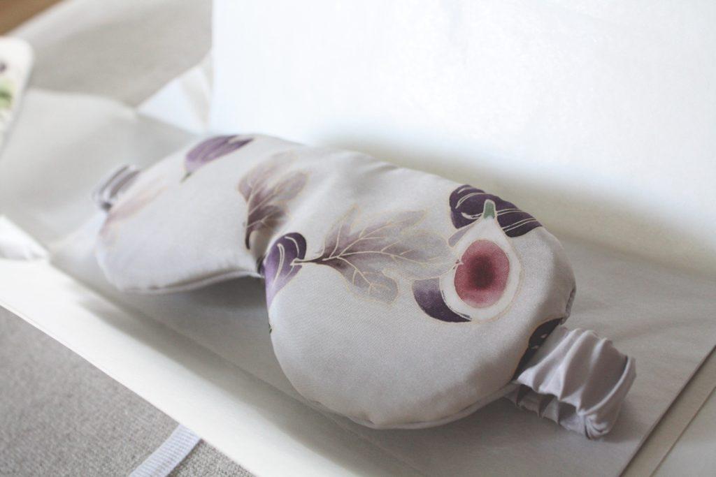 京友禅のアイマスク