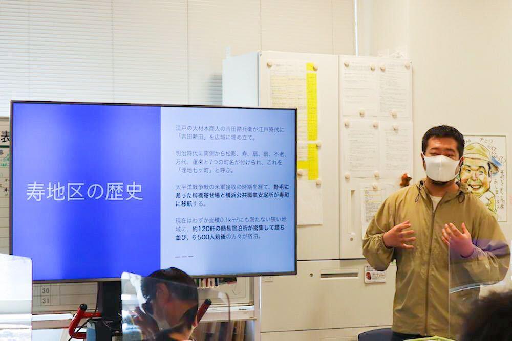 プログラムの初めに、小林野渉さんによる講義が行われました