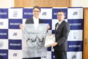 羽田ポリエチレン、横浜市内の家庭から排出されたプラスチック製容器包装を原料の一部に使用したごみ袋を横浜市に寄贈
